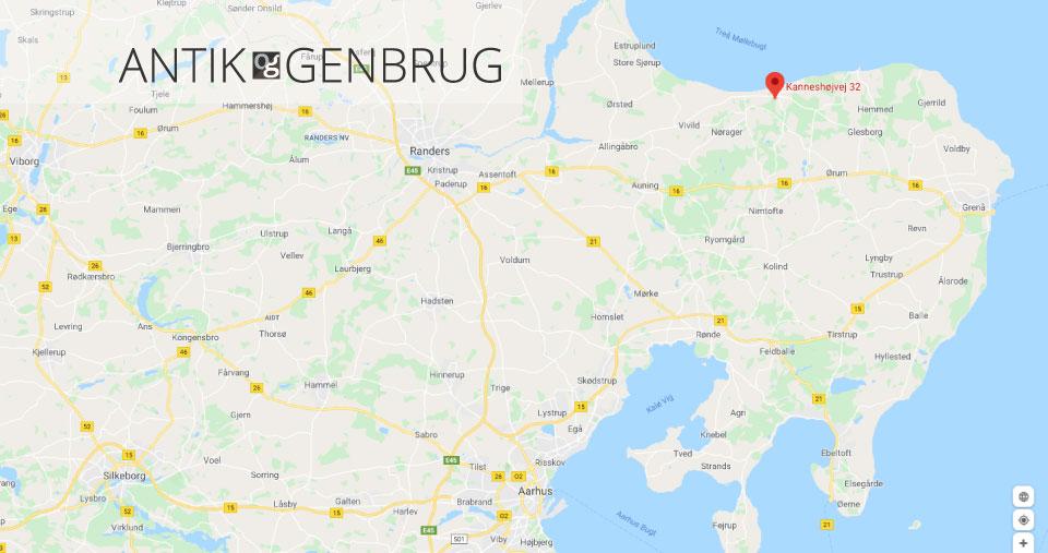 Antik og Genbrug Kanneshøjvej 32, 8585 Fjellerup